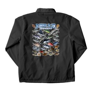 Saltwater fish_3CW Coach Jacket