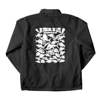 Saltwater fish_3W Coach Jacket