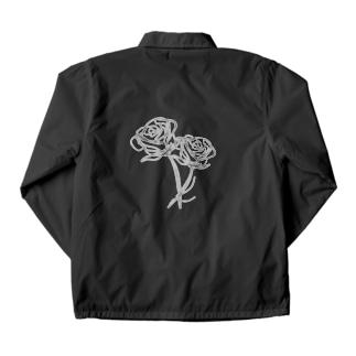 モノクロ_r Coach Jacket