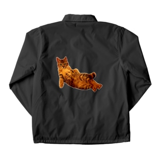 Elegant Cat 2 Coach Jacket