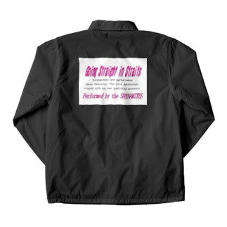 Going Straight in straits 2001 ver.-Logo Coach Jacket