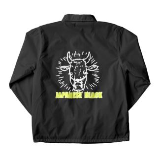 Japanese Black  Coach Jacket