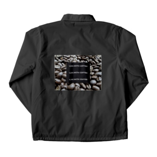 Life With Coffee Cacao Coach Jacket