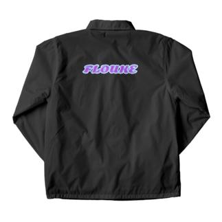FLOUKEロゴ Coach Jacket