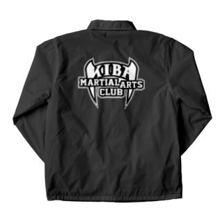 KIBAマーシャルアーツクラブ公式ロゴ Coach Jacket