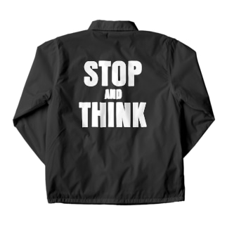 stop and think Coach Jacket