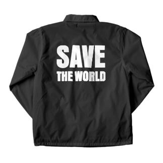 save the world Coach Jacket