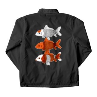 金魚_3匹 Coach Jacket