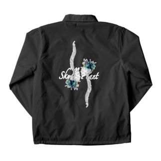 「Skull×plant」 Coach Jacket