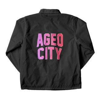 上尾市 AGEO CITY Coach Jacket