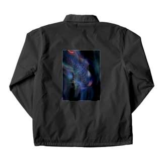 center of The earth Coach Jacket
