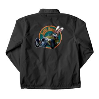 RHOUSE | GOODSのスリーホィラー Coach Jacketの裏面
