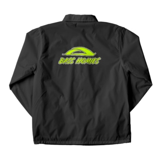 BASSHOMIESブリッジロゴボルトカラー Coach Jacket