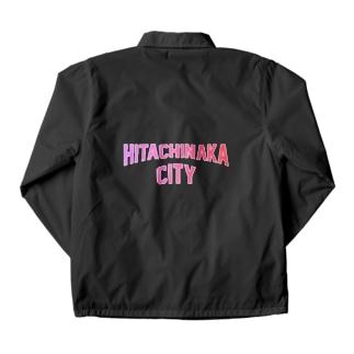 JIMOTO Wear Local Japanのひたちなか市 HITACHINAKA CITY Coach Jacket