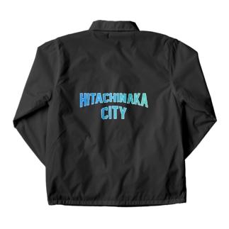 ひたちなか市 HITACHINAKA CITY Coach Jacket