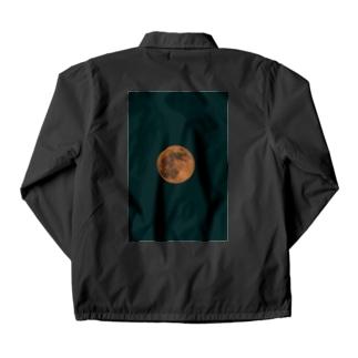 怪しい月と世界 Coach Jacket