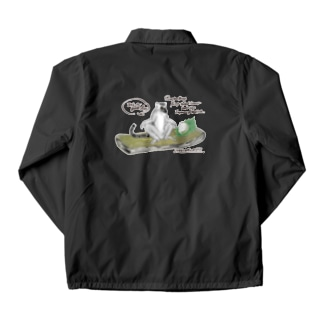 ワオキツネザルのひらき Coach Jacket
