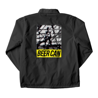 Man with Beer Can Coach Jacket