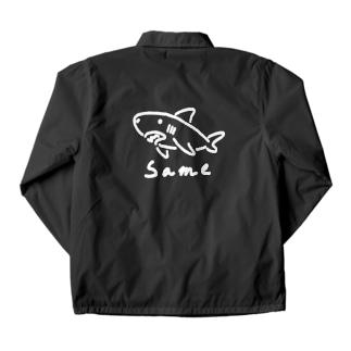 シンプルなSame 濃い色用 Coach Jacket