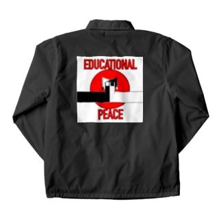 教育的平和解答 Coach Jacket