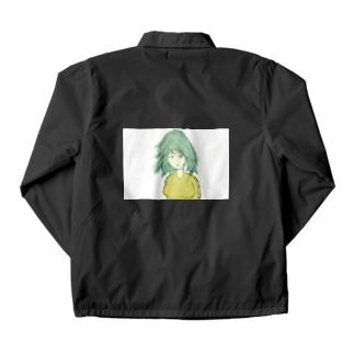 粒子ガール Coach Jacket