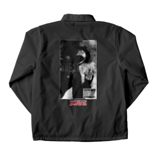 Distorted Coach Jacket
