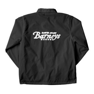 Barneys新ロゴ白 Coach Jacket