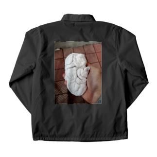 白子っぽい洗濯物 Coach Jacket