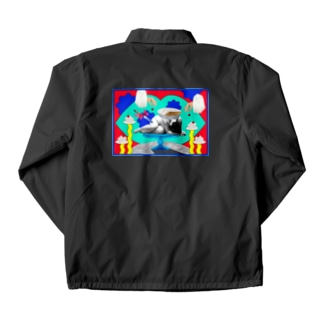 sad cake(Ver.2) Coach Jacket