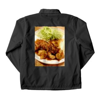 鶏胸肉の照り焼き(おいしい) Coach Jacket