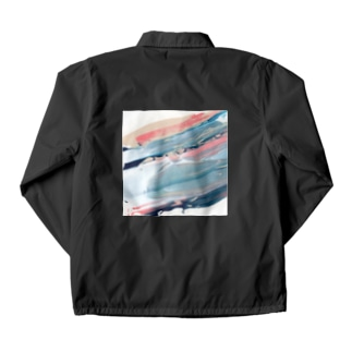 squeeze abstract paint [02] Coach Jacket