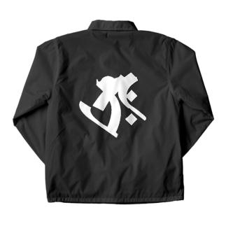 梵字[タラーク] 虚空蔵菩薩 Coach Jacket