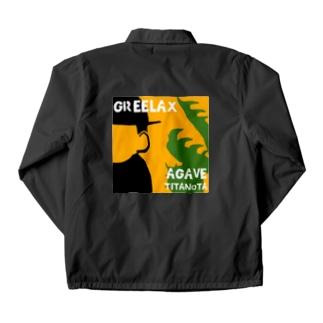 GREELAX コラボ パキポキ Coach Jacket