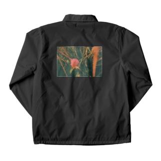 エモーショナルなお花 Coach Jacket
