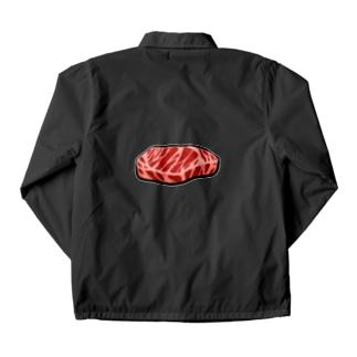 お肉 Coach Jacket