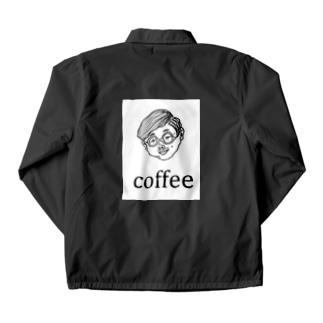 COFFEE MAN Coach Jacket