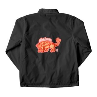 恐竜グッズ・サイカニア Coach Jacket