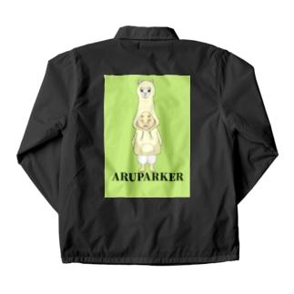 アルパーカー Coach Jacket