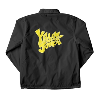 YELLOW JUNKIE ロゴ(黄色ver.) Coach Jacket