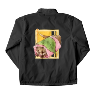 あんこ多めの関東風桜餅 Coach Jacket