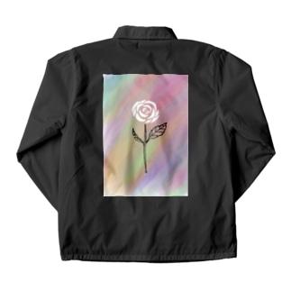 Rock Style Hero Originの世紀末に咲く一輪の薔薇 Coach Jacket