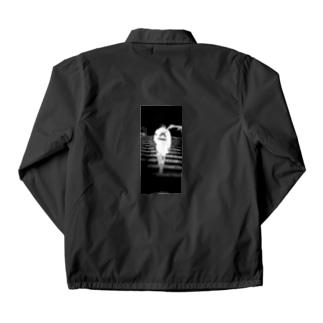 lung-black Coach Jacket