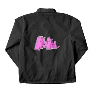 Nayunyan pink Coach Jacket