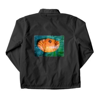 momo_emiのカニ Coach Jacket