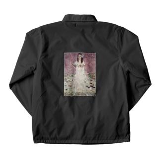 グスタフ・クリムト(Gustav Klimt) / 『メーダ・プリマヴェージ』(1912年) Coach Jacket
