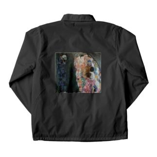 グスタフ・クリムト(Gustav Klimt) / 『死と生』(1915年) Coach Jacket