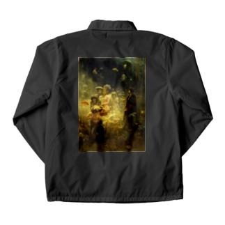 世界の絵画アートグッズのイリヤ・レーピン 《海底の王国でのサドコ》 Coach Jacket