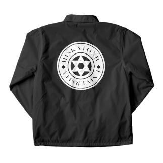 MISKATONIC LIBRARY STAFF Coach Jacket