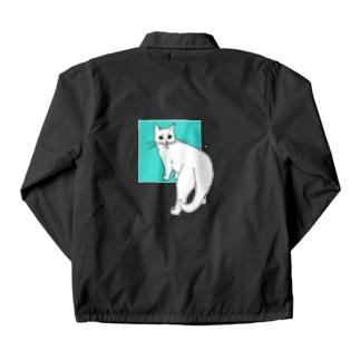 猫のカイ 4 Coach Jacket