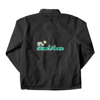 StandAlone社 オリジナルロゴver.1 Coach Jacket